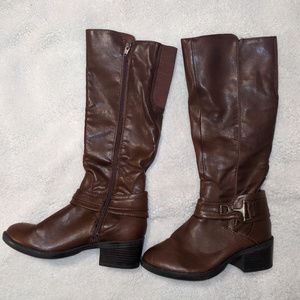 MERONA Maybelle Riding Boots EUC Size 6.5